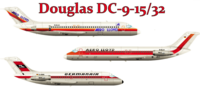 DC-9-15/32 Decals