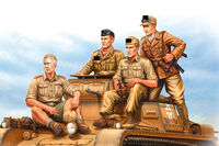 German Tropical Panzer Crew - Image 1