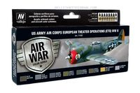71182 Air War Color Series - US Army Air Corps European Theater Operations (ETO) WWII Set
