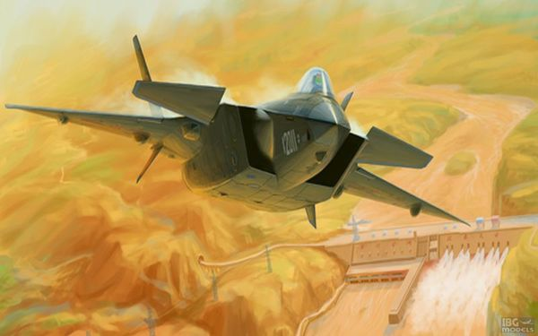 Chinese. J-20 Mighty Dragon - Image 1