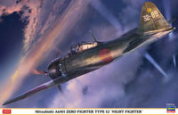 Mitsubishi A6M5 Zero fighter type 52 Night Fighter