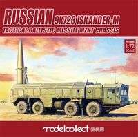 Russian 9K723 Iskander-M Tactical Ballistic Missile MZKT Chassis