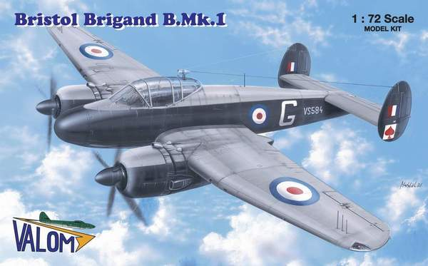Bristol Brigand B.Mk.I British light and fast bomber - Image 1