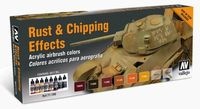 71186 Model Air - Rust & Chipping Effects Set