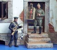 Russian Sailors, Black Sea Fleet WWII - 2 figures - Image 1
