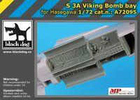 S 3A Viking bomb bay for Hasegawa