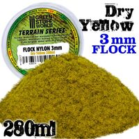 Flock Nylon 3mm - Dry Yellow Grass (280ml) - Image 1