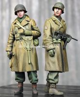 WW2 US Infantry Winter Set - 2 figs - Image 1