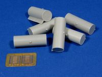 Cylindrical Fuel Drums for WWII Soviet Tanks - Image 1