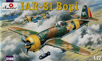 Romanian II WW fighter IAR-81 BOPI