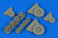 F-14A Tomcat weighted wheels wheels TAMIYA