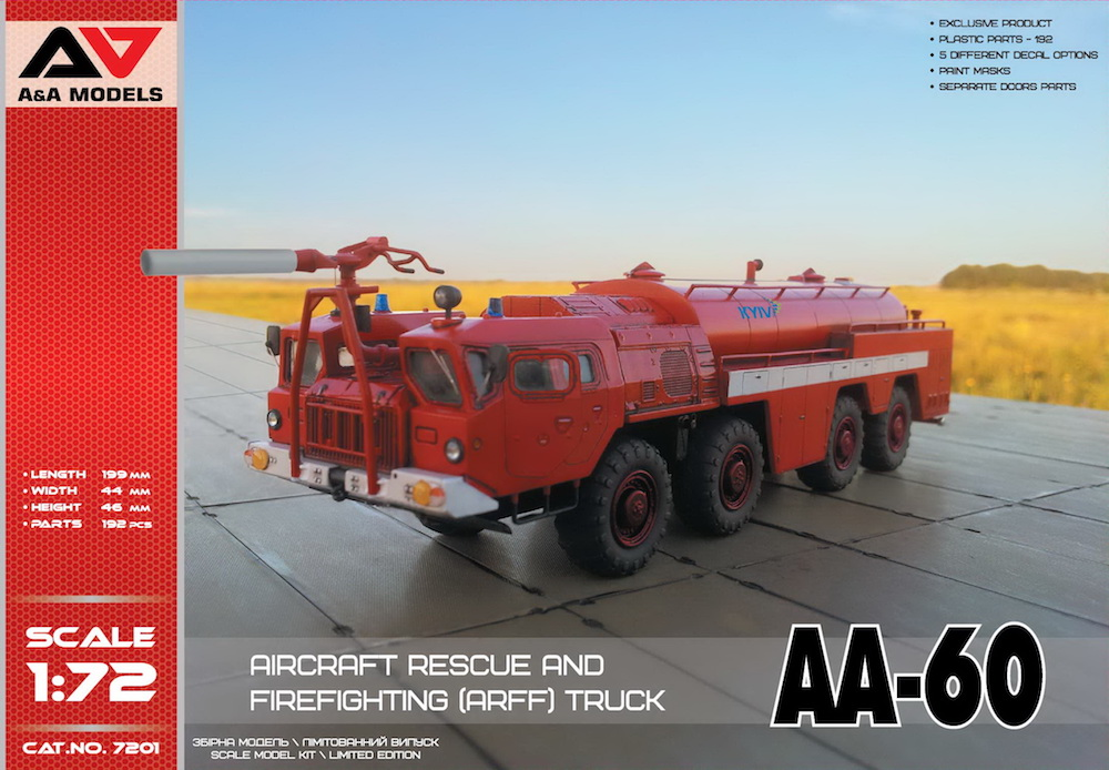 AA-60 Aircraft Rescue & Firefighting (ARFF) Truck - Image 1