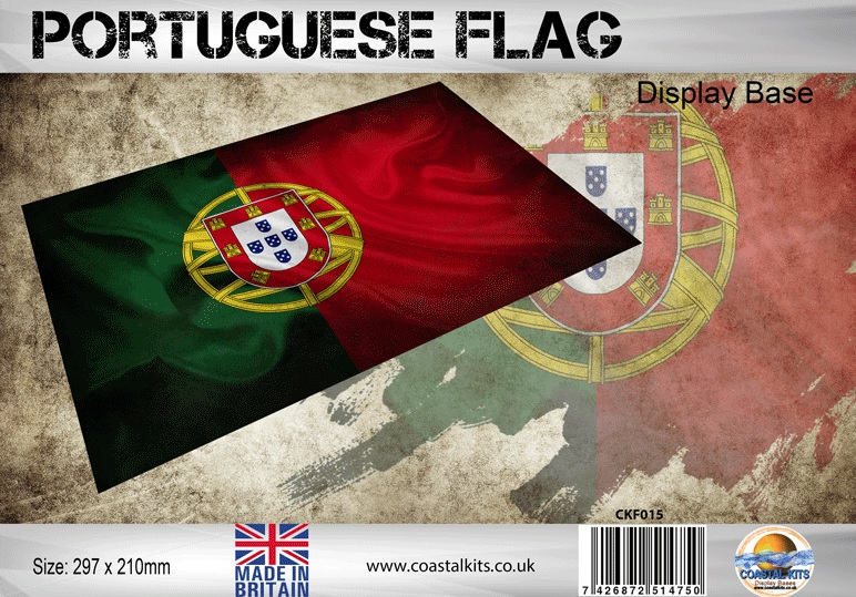 Portuguese Flag 297 x 210mm - Image 1
