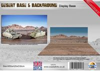 Desert Base & Background set 550 x 250 x 300mm - Image 1