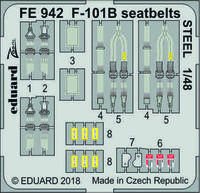 F-101B seatbelts STEEL   KITTY HAWK
