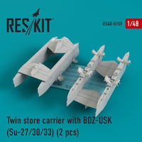 Twin store carrier with BDZ-USK (Su-27/30/33) (2 pcs) - Image 1