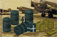 German WWII Jerrycans & Oil Drums - Image 1