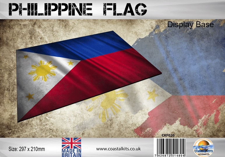 Philippine Flag 297 x 210mm - Image 1