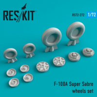F-100 (A) Super Sabre wheels set