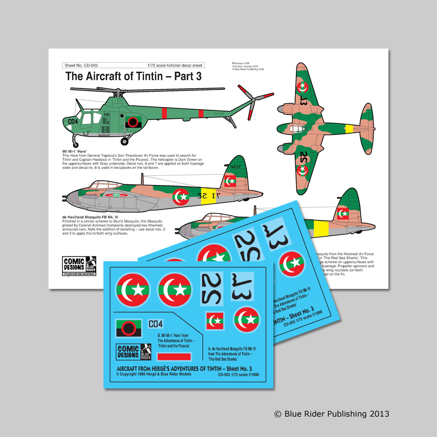 Aircraft of Tintin: Part 3 - Image 1