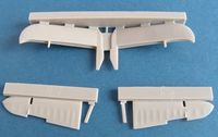 Beaufighter tailplane early version for Airfix