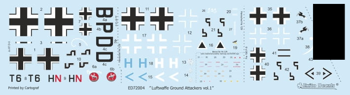 Luftwaffe Ground Attackers vol.1 - Ju 87 D-3, Hs 129, Fw 190F-8 - Image 1