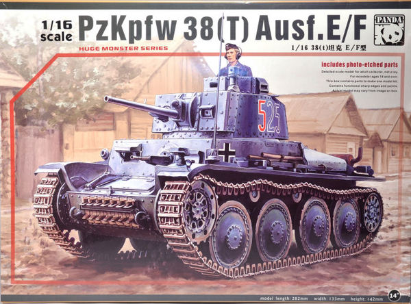 Pz.Kpfw.38(t) Ausf.E/F Kit First Look - Image 1