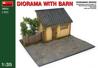 DIORAMA WITH BARN