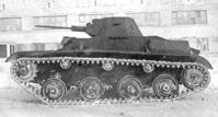T-60 GAZ production (floating wheels, model 1942)