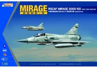 MIRAGE 2000-5EI ROCAF with TOW Tractor - Image 1