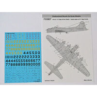 Stencils for Boeing B-17 Flying Fortress