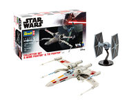 X-Wing Fighter + TIE Fighter Collector Set - Image 1