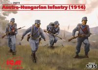 Austro-Hungarian Infantry (1914) (4 figures)