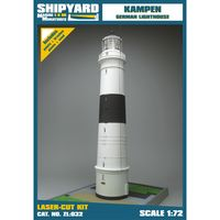 Lighthouse Kampen skala 1:72