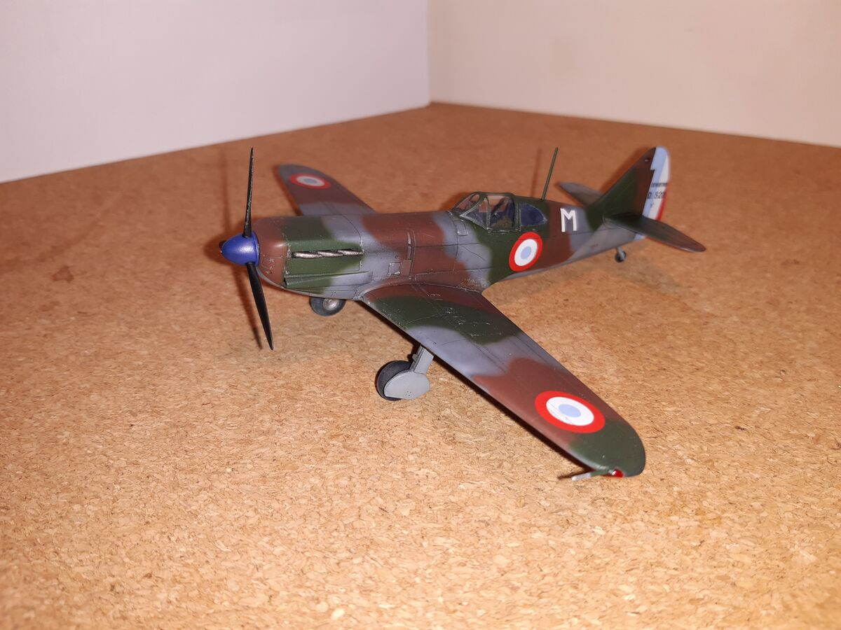 Dewoitine D.520 1/72 Hobby 2000 - 001 - Image 1