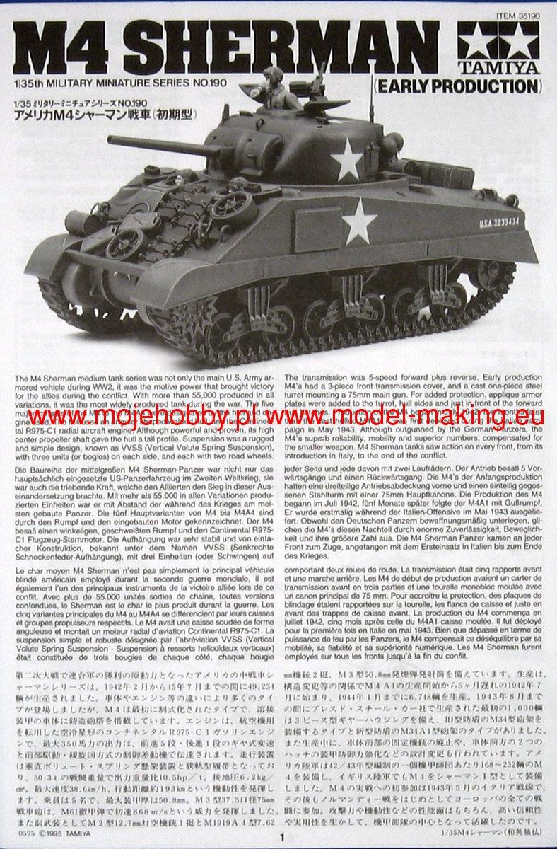 35 Us Medium Tank M4 1