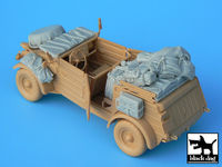 Kübelwagen type 82 accessories set for Tamiya kit, 15 resin parts - Image 1