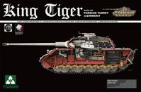 Sd.Kfz.182 King Tiger Porsche Turret with Zimmerit with New Track Parts
