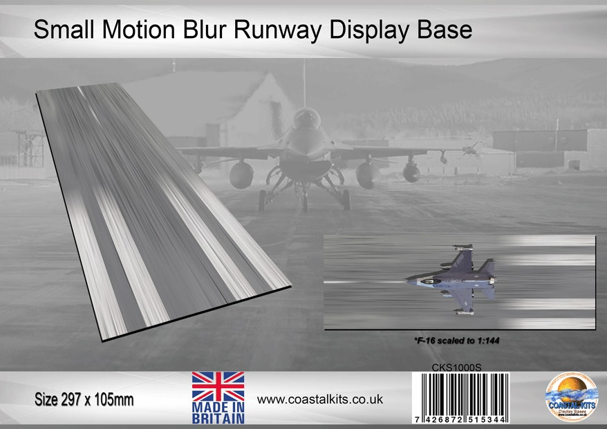 Small Motion Blur Runway 297 x 105mm - Image 1