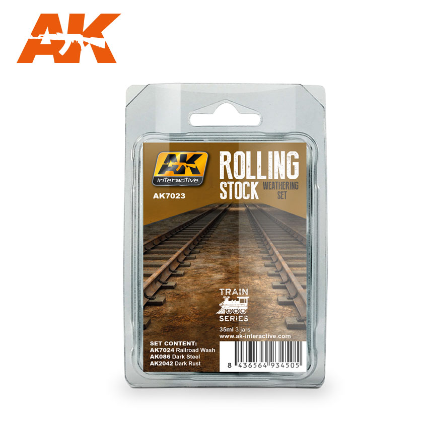 ROLLING STOCK WEATHERING SET TRAIN SERIES - Image 1