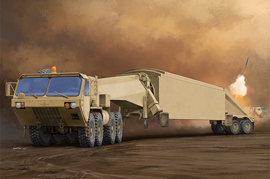 M983 Tractor with AN/TPY-2 X Band - Image 1