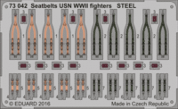 Seatbelts USN WWII fighters STEEL - Image 1