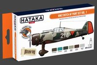 HTK-CS107 WW2 Dutch AF paint set vol.1