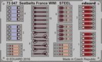 Seatbelts France WWI STEEL - Image 1
