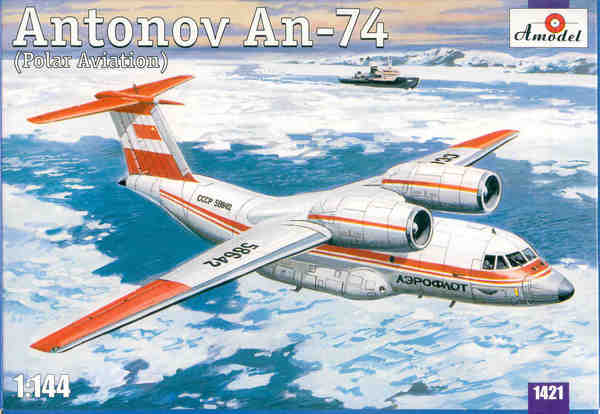 Soviet Antonov AN-74 (Polar version) - Image 1