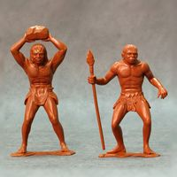 Cavemen, set of two figures #3