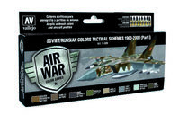 71609 Air War Color Series - Soviet/Russian Colors Tactical Schemes 1960-2000 (Part I) - set
