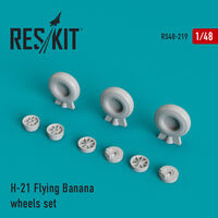 H-21 Flying Banana wheels set - Image 1