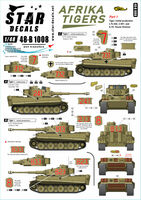 Afrika Tigers. Tigers in Tunisia 1942-43. s.Pz.Abt. 501 and 10. Pz.Division