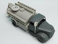 Opel Blitz Fire Truck for tamiya - Image 1